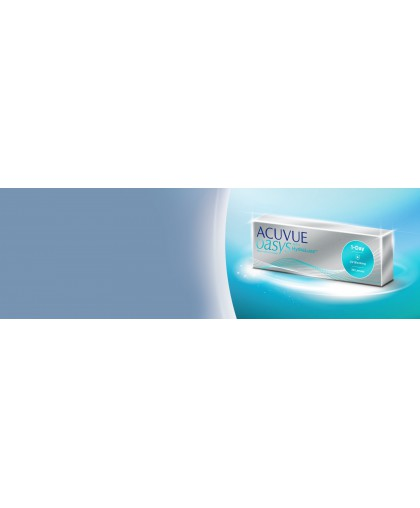 1-DAY Acuvue Oasys with HYDRALUXE (30 ШТУК)