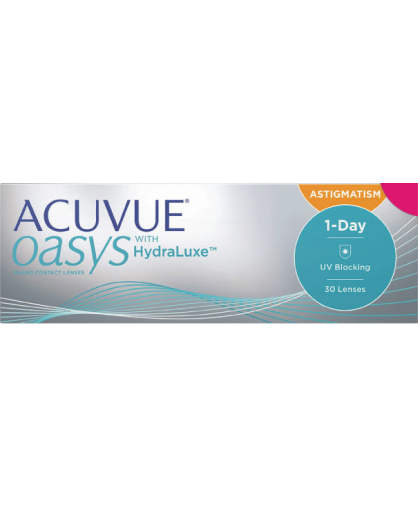 1-DAY Acuvue OASYS for Astigmatism (30 ШТУК)